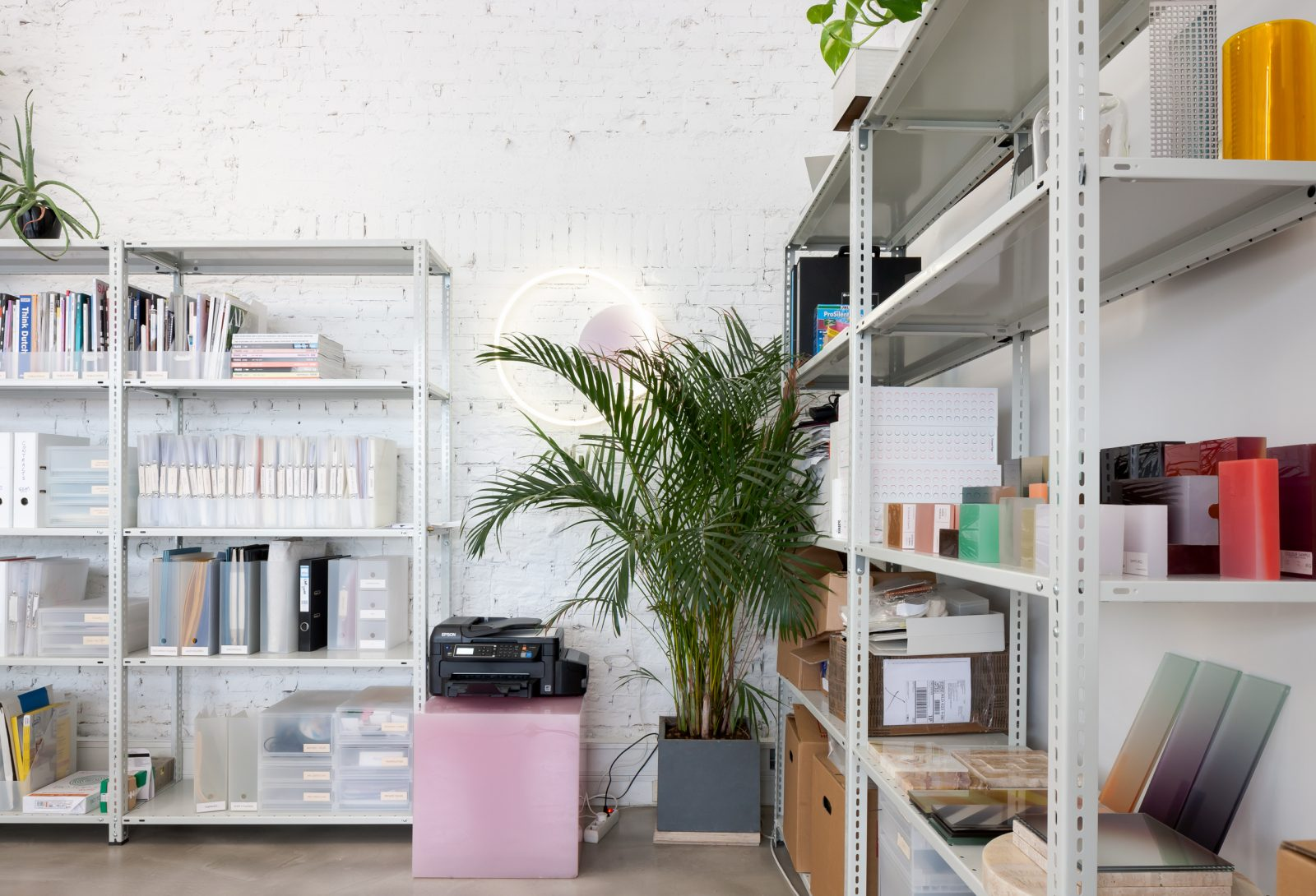 on the occasion of the interieur binnale 2018 i photographed the new offices of studio sabine marcelis in rotterdam